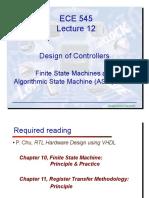 ECE545 Lecture12 Controller