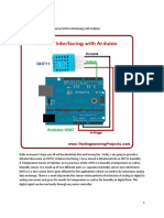 DHT11 Arduino Interfacing