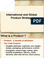 Ch 08 International and Global Product Strategy