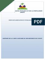 Rapport Carte Sanitaire Ouest