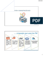 Gestion y Adminsitración Web s003