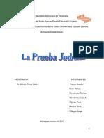 DERECHO PROBATORIO VENEZUELA