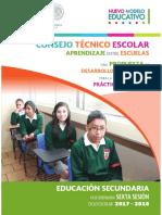 Fase Ordinaria SEXTA SESIÓN, ciclo escolar 2017-2018