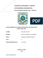 Uso Del Aserrin Investigacion