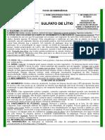 Sulfato de Litio