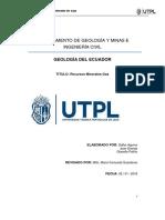 Informe Recurso Mineral Gas