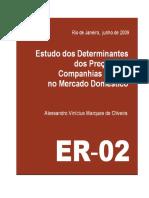 Determinante Das Cias Aéreas 2009