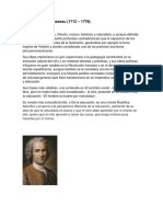 Jean Jacques Rousseau biografia