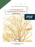 Guia Para La Organizacion de Congresos Academicos