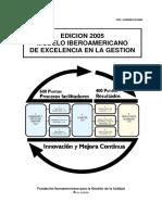 Modelo Iberoamerican Excelencia 2005