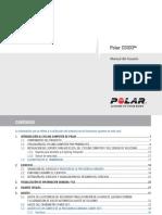 Polar CS100 User Manual Espanol