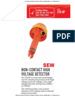 Detectores de Ausencia de Tension Sin Pertiga Sin Contacto 278hp Sew Catalogo Ingles
