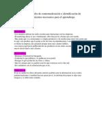Actividades de Contextualización e Identificacion de Conocimientos Necesarios Para El Aprendizaje