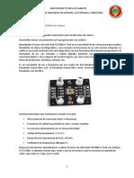 INFORME Proyecto medidas electricas