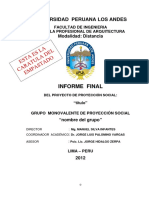 INFORME FINAL PROYECCION SOCIAL.docx