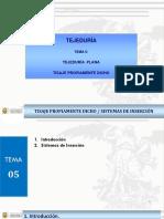 Tema 05 Tejido Plano - Tisaje y Mecanismos de Insercion