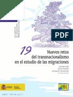 Sole, Et Al Nuevos Retos Del Transnacionalismo en El Estudio de Las Migraciones