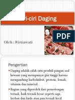 Ciri Ciri Daging