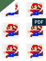 Pixel Art Mario Bros