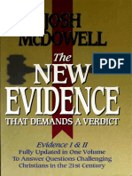 The New Evidence That Demands a Verdict, by Josh McDowell