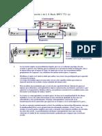 S 8_3 Análisis de Johann Sebastian Bach Invención en Do M BWV 772