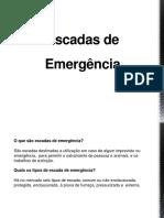 Escadas de Emergência