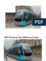 Kickbacks from BRT Run into Billions in European, African, and Middle-East Countries