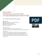 HAUER Eurocode-6 Berechnungsverfahren W