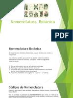 Nomenclatura Botanica