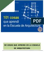 101 cosas que aprendí en la escuela de Arquitectura - MEGA BIBLIOTECA - MB.pdf