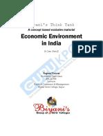 Economic Environment in India(B.com)P-2