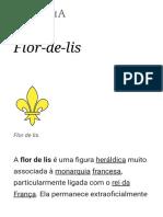 Flor-De-lis – Wikipédia, A Enciclopédia Livre
