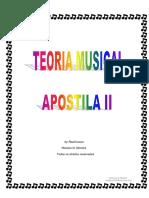 Teoria Musical - Curso de Teoria Musical II