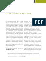 6 Ley de Educacion Provincial