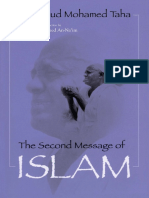 Mahmud Muhammud Taha-The Second Message of Islam-Syracuse Univ Pr (Sd) (1987)