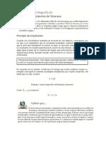 Principio de Arquimedes y Principio de Pascal