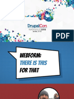 Webform - There is This for That - DrupalCon Nashville 2018