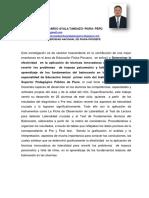 Resumen Investigación Perú--Ayala Tandazo José Eduardo