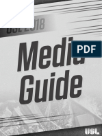 USL 2018 Media Guide