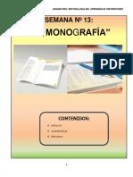 SEMANA 13 - Monografia
