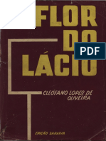 Cleófano Lopes de Oliveira - Flor Do Lácio (Português) [OCR Normal]