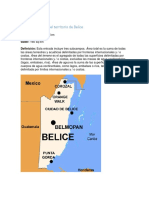 Área y Perímetro Del Territorio de Belice