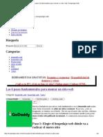 Los 6 Pasos Fundamentales Para Montar Un Sitio Web _ Hospedaje Web