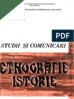 01 Studii Si Comunicari Etnografie Istorie 1 1975 Caransebes