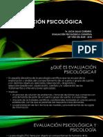 CLASE 1 Evaluación Psicológica