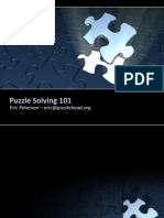 Puzzle Solving 101
