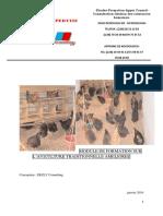 Module de Formation Sur Aviculture
