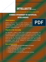 summer internship on artificial intellgence 11