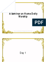 A Seminar on Home Deity Worship