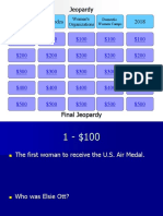 Jeopardy Template 2 Ppt